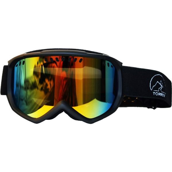 Masque de Ski Torrent Matt Black Frame Revo Red