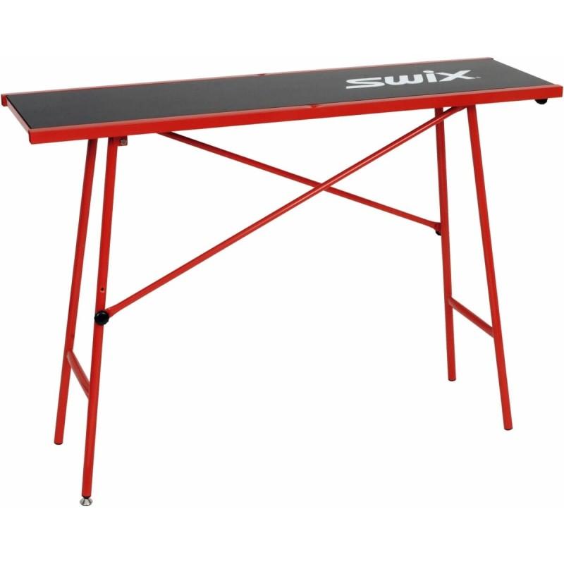 Tabelle Wachs-Swix Waxing Tisch Rot