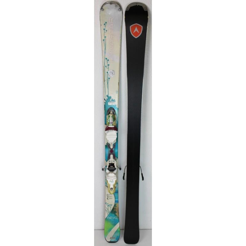 Pack Ski Dynastar Neva 78 + Fixations Look XP 11 Blanc