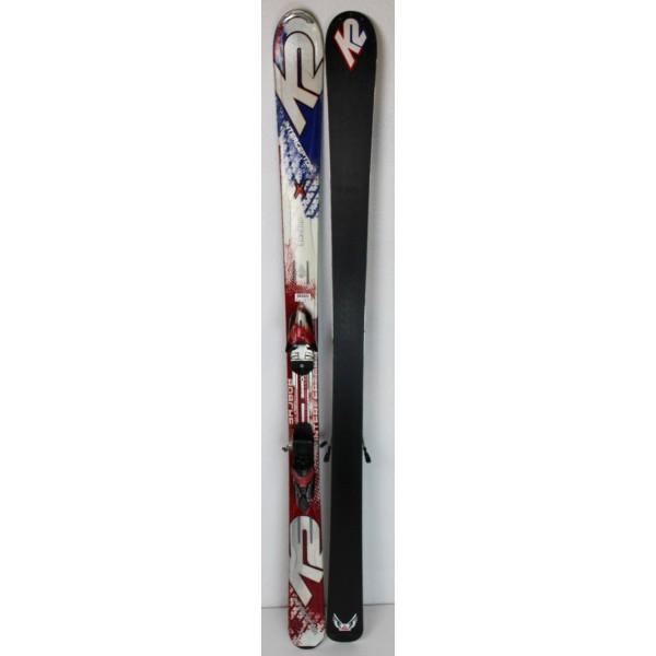 Pack Ski K2 Apache Interceptor + Fixations Marker M2 11.0 Blanc