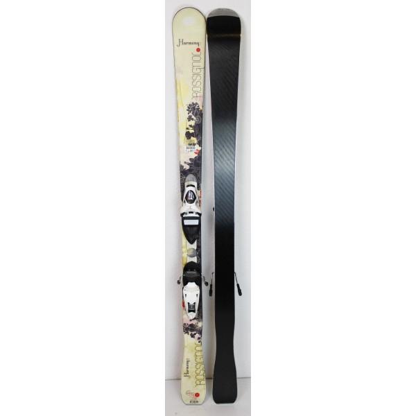Pack Ski Rossignol Harmony II + Fixations Saphir 90 Jaune