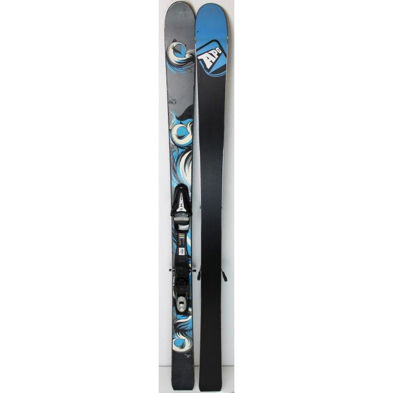 Pack Ski Apo Gigi + Fixations Tyrolia SP 10 Gris