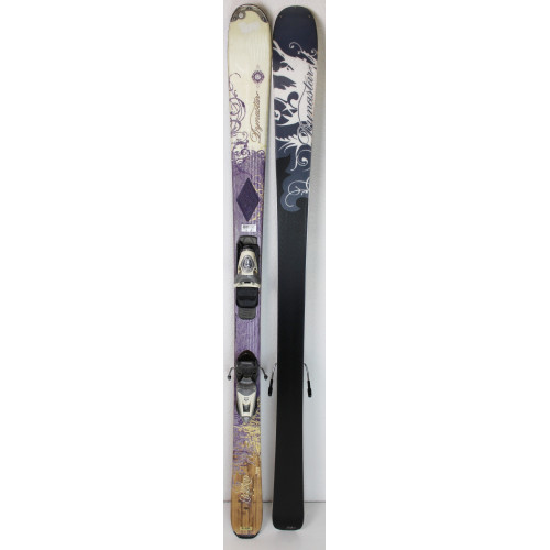 Pack Ski Dynastar Exclusive Legend + Fixations N Exclusive 9 Violet