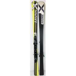 Pack Ski Axunn Alpin + Fixations Salomon S10 Jaune / Noir