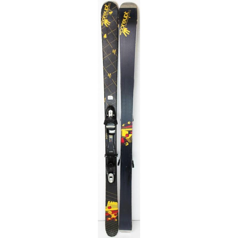 Pack Ski Coreupt Candide Yard + Fixations Look NX11 Noir