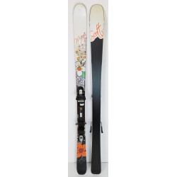 Pack Ski Scott Maya + Fixations Tyrolia SP100 Blanc / Noir