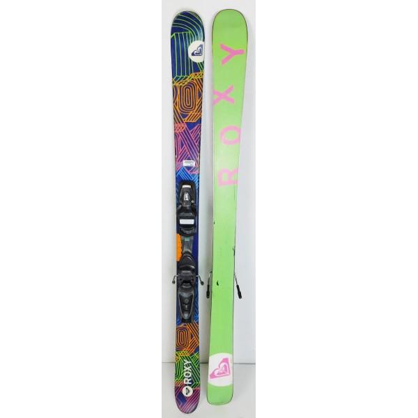 Pack Ski Roxy Hocus Pocus + Fixations Axium Jr Violet