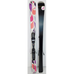 Pack Ski Roxy Juicy + Fixations Axium 100 Violet