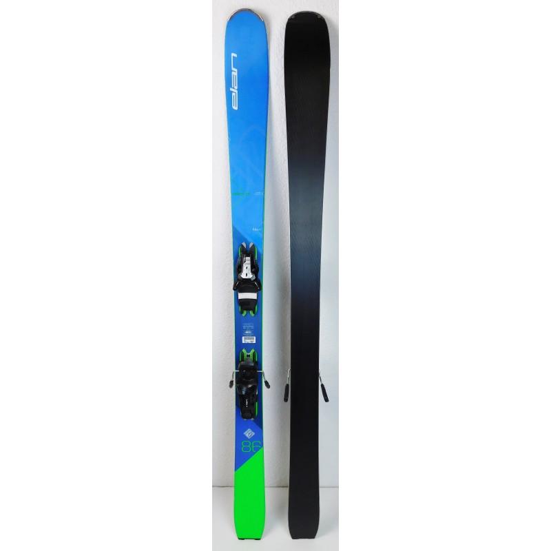 Pack Ski Elan Ripstick 86 SMU + Fixations Tyrolia ELS 11 Bleu