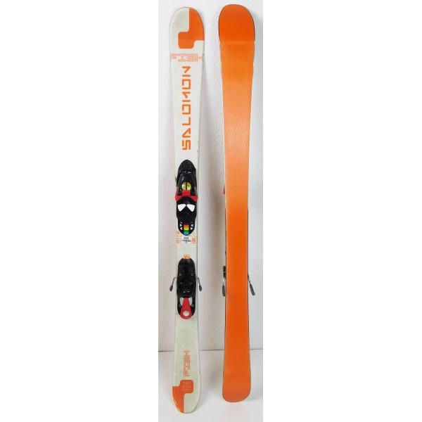 Pack Ski Salomon Teneighty FISH + Fixations Salomon S305 Orange
