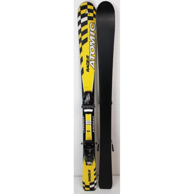 Pack Ski Atomic Race 5 + Fixations SL45 Jaune
