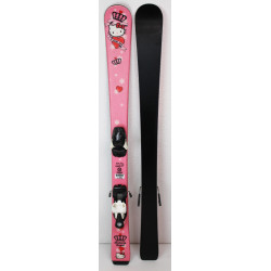 Pack Ski Atomic Hello Kitty + Fixations Atomic Evox 045 Rose