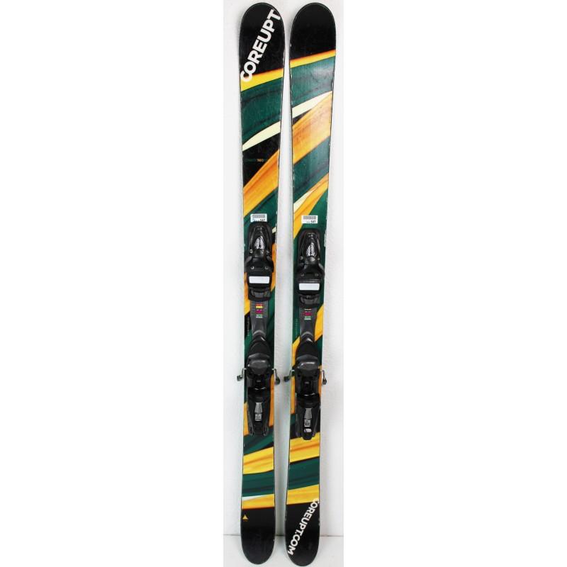 Pack Ski Coreupt Candide Yard + Befestigungen Look NX10 Grün, zustand 3