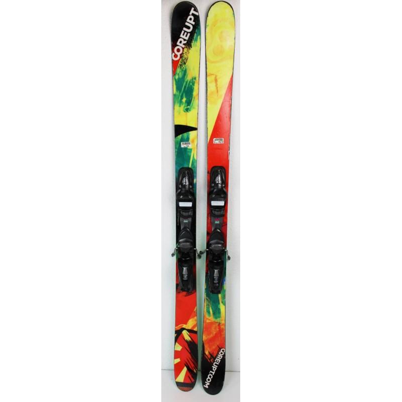 Pack Ski Coreupt TJ Shiller + Fixation NX 10 Jaune - etat 3