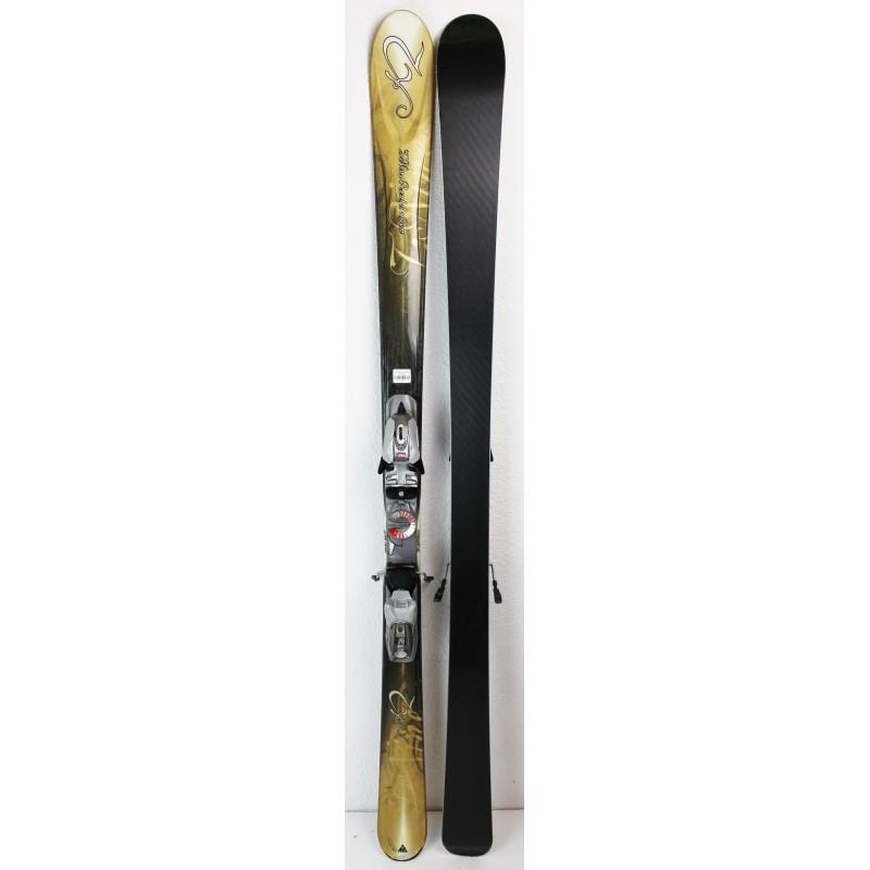 Pack Ski K2 T:Nine Rental + Bindings Marker M900 Brown - state 3