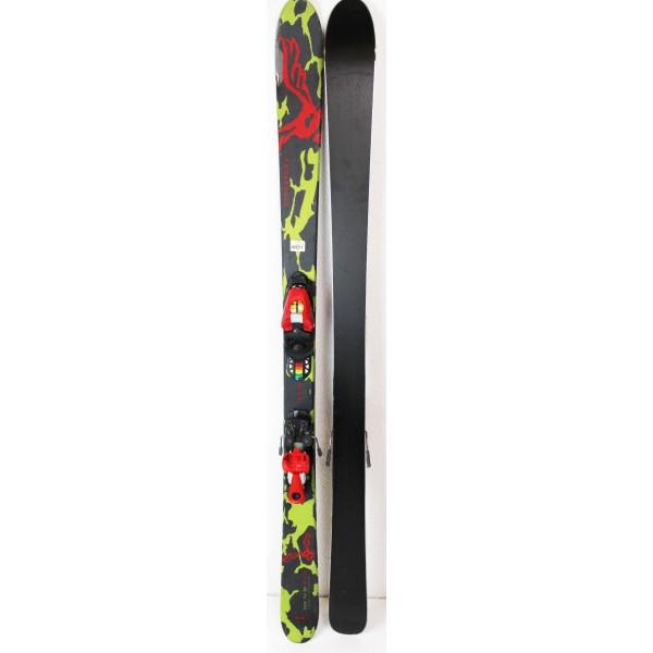 Pack Ski Salomon Teneighty + Fixations Salomon S305 Vert - état 2