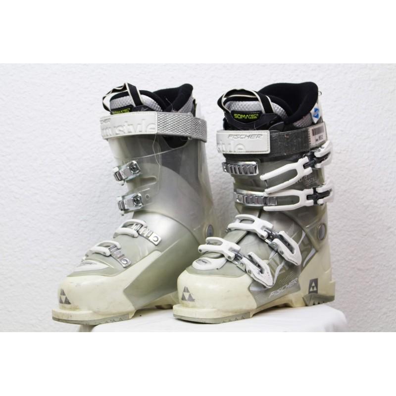 Chaussures de Ski Fischer XTR8 Mystyle Gris / Blanc