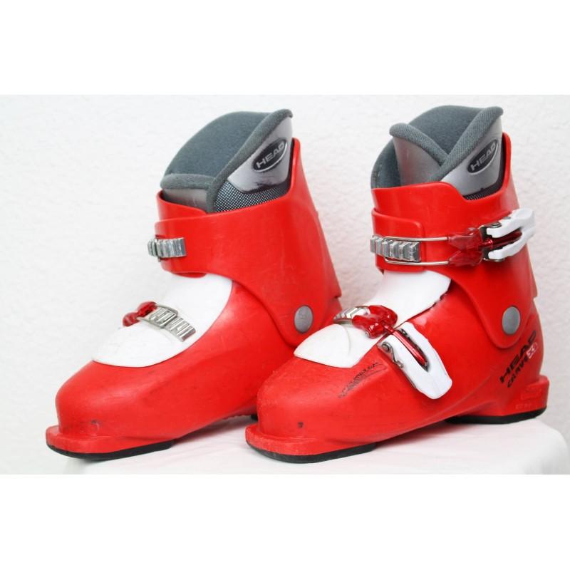 Chaussures de Ski Head Carve x2 Rouge