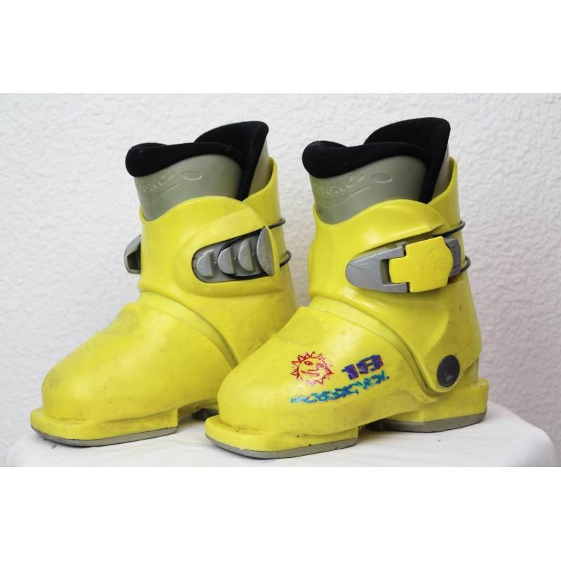 Ski boots Rossignol R18 Yellow