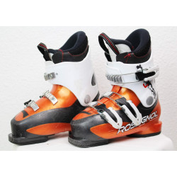 Scarponi da sci Rossignol Radical J3 Arancione / Bianco