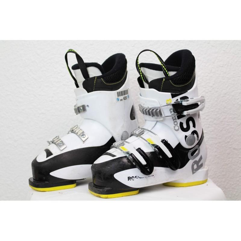 Chaussures de Ski Rossignol Comp J3 Blanc / Noir
