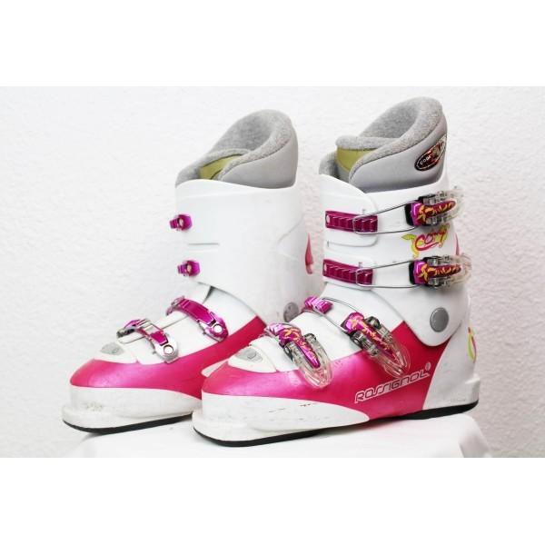 Chaussures de Ski Rossignol Comp J4 Blanc / Rose