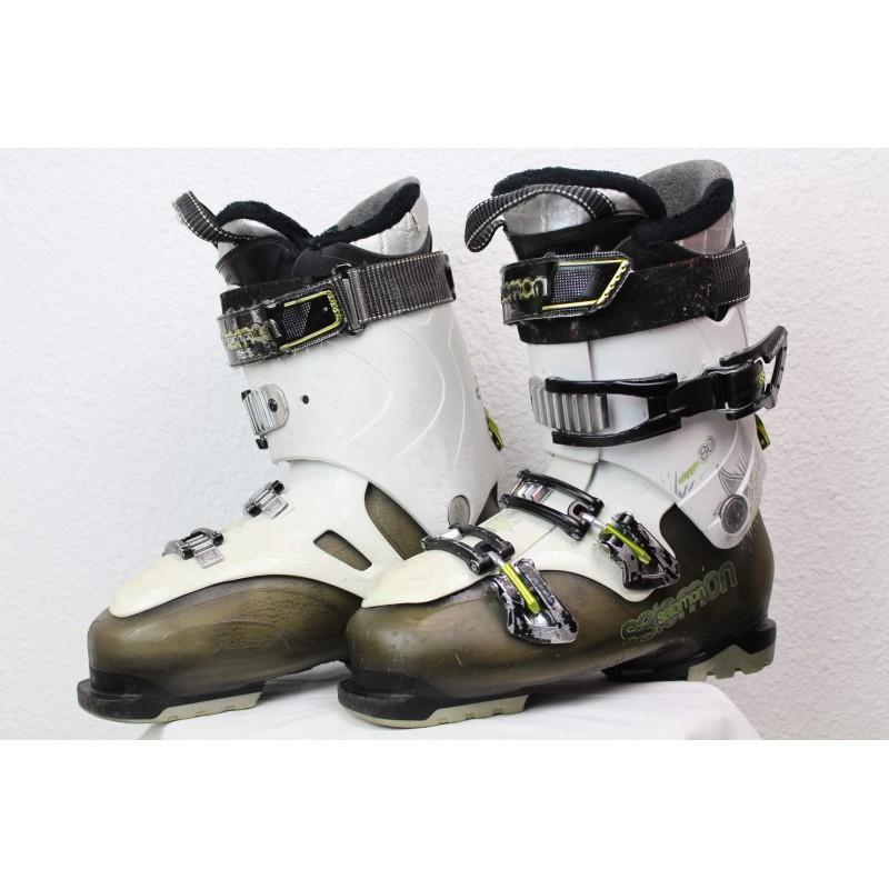 Chaussures de Ski Salomon Quest Access 80 Blanc