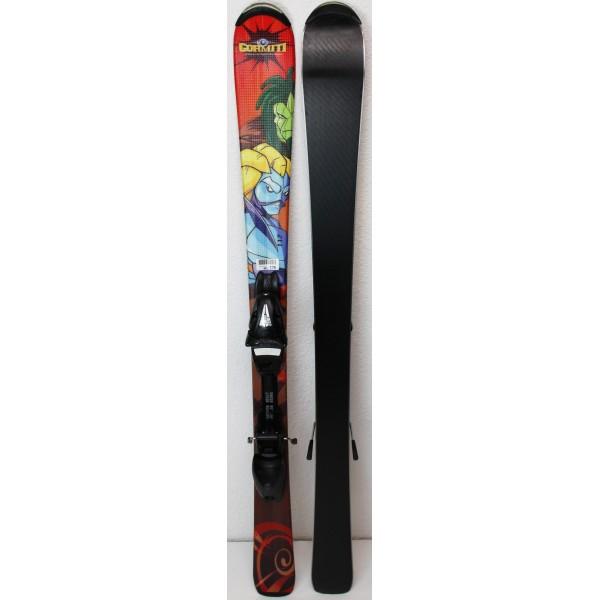 Pack Ski Atomic Gormiti + Fixations LP4.5 Marron