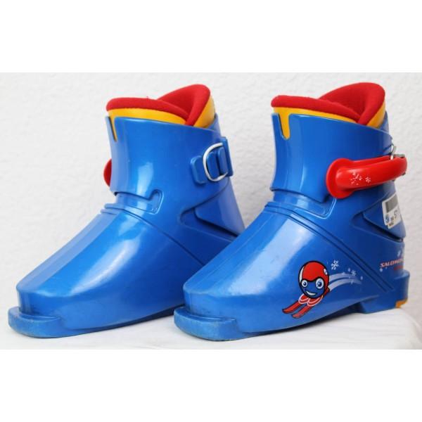 Chaussures de Ski Salomon 15 Mini Bleu