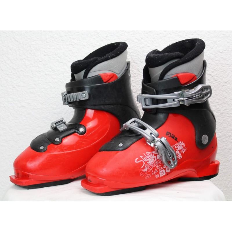 Chaussures de Ski Salomon SPK Rouge