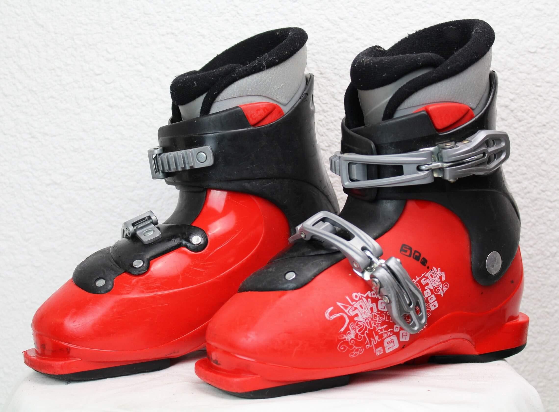 Scarponi da sci Salomon SPK Rosso SkiOccas