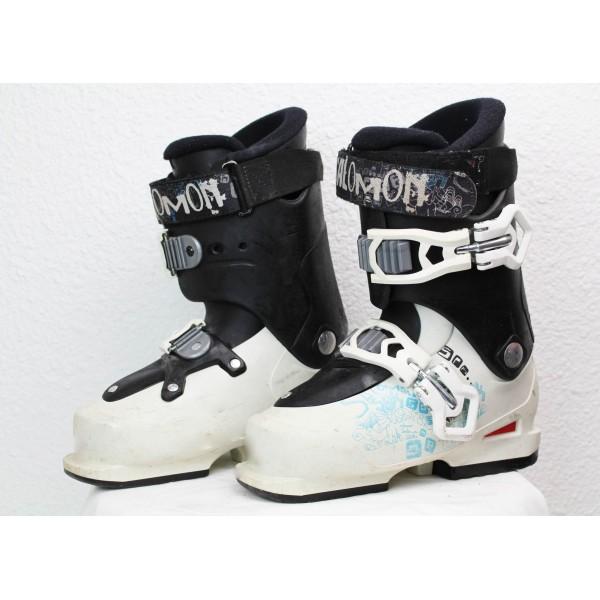 Chaussures de Ski Salomon SPK Blanc