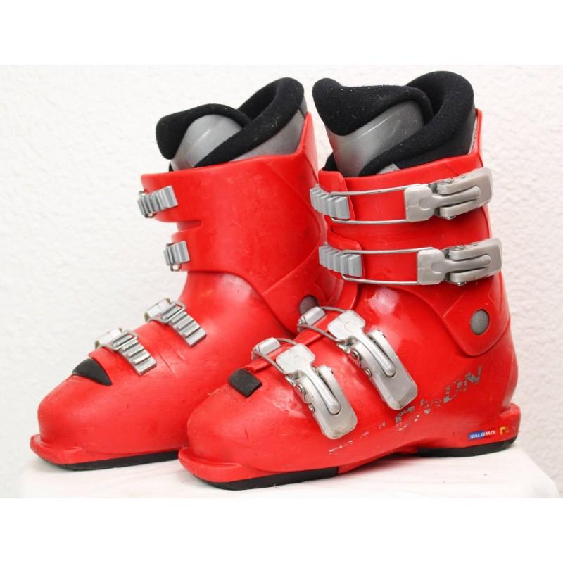 Chaussures de Ski Salomon T4 Rouge