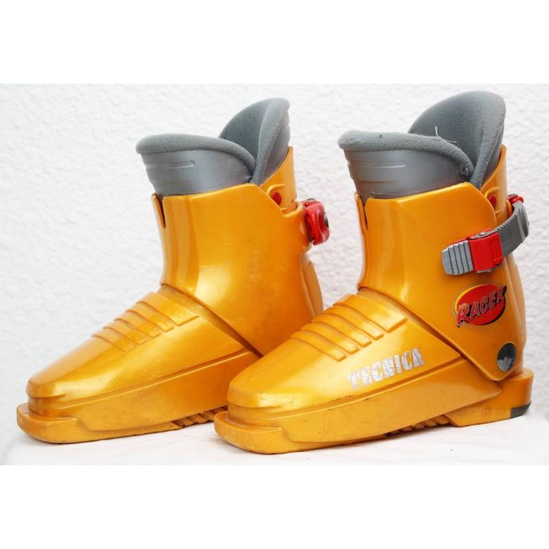 Chaussures de Ski Tecnica Racer Orange