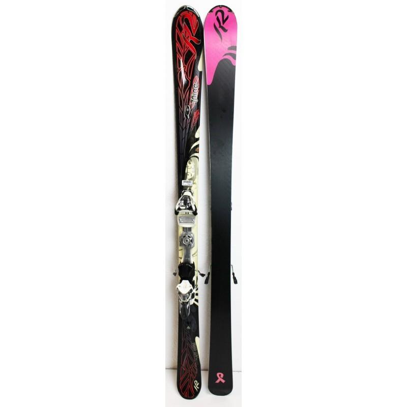 Pack Ski K2 Free Luv + Fixations Marker ERS 11 TC - état 2