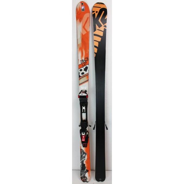 Pack Ski K2 Backup 82 + Marker Bindings Tour F12 + Skins