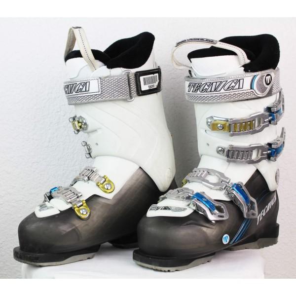 Ski boots Tecnica Ten 2 85 RT W Grey / White