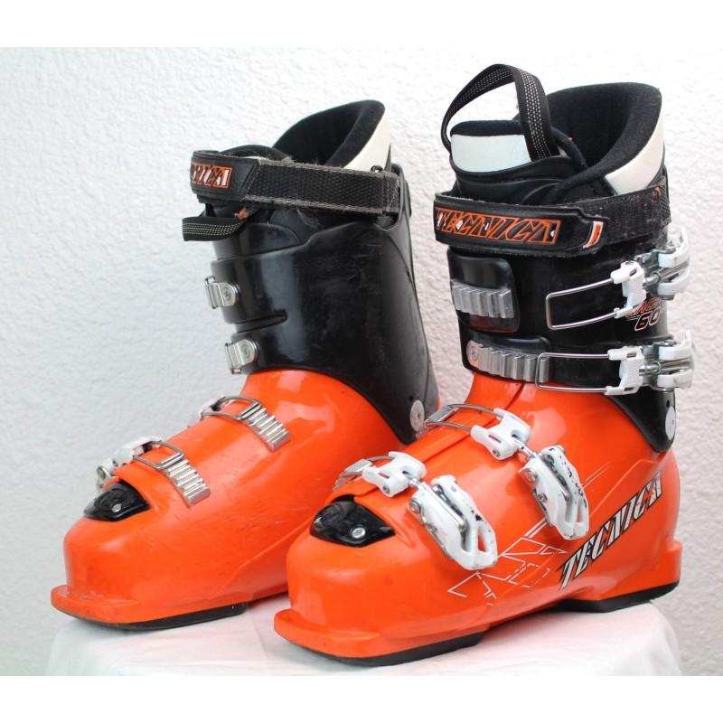 Scarponi da sci Tecnica Race Pro 60 RT Nero / Arancione