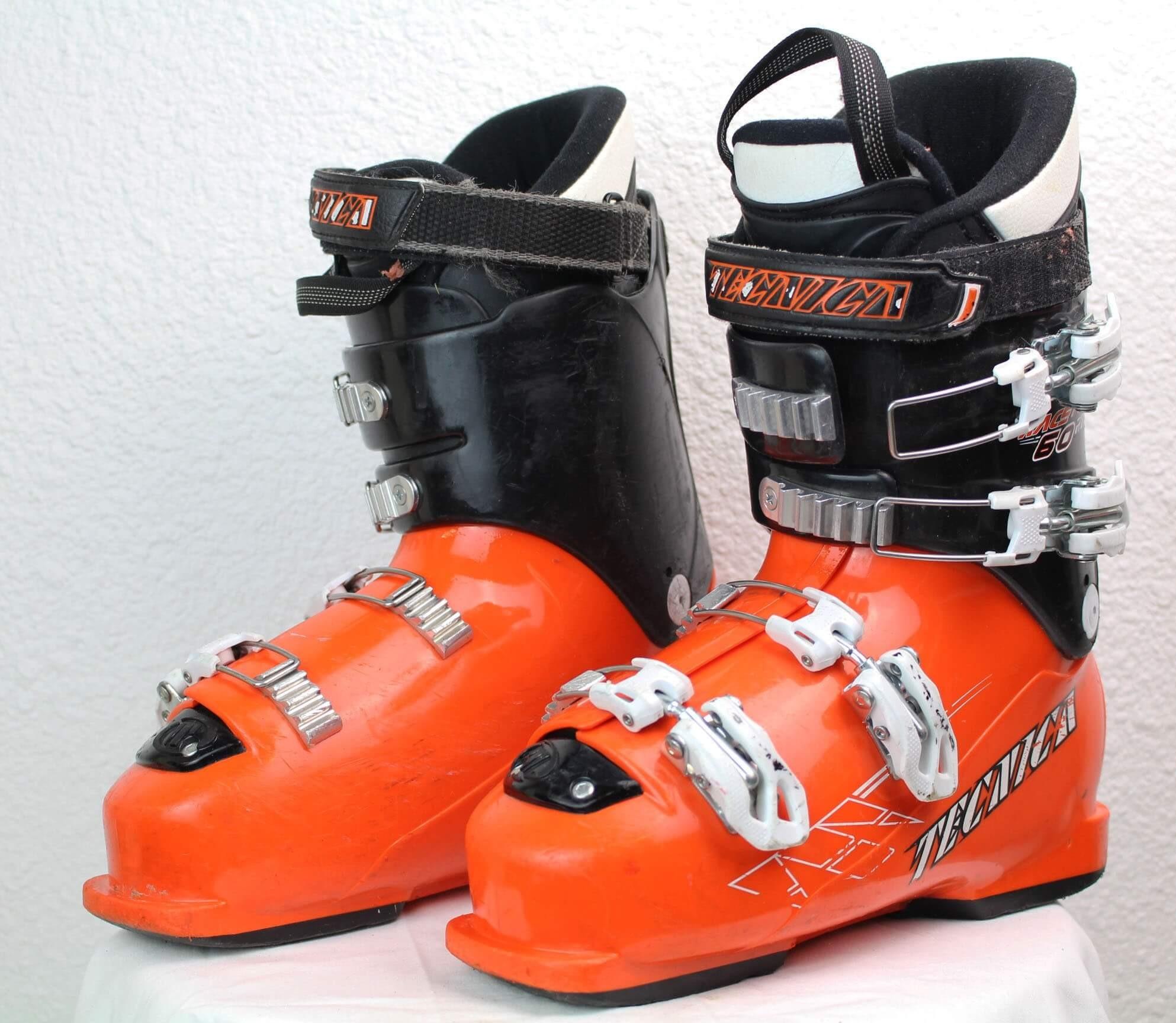 the best attitude e2a55 770ef Scarponi da sci Tecnica Race Pro 60 RT Nero / Arancione - SkiOccas