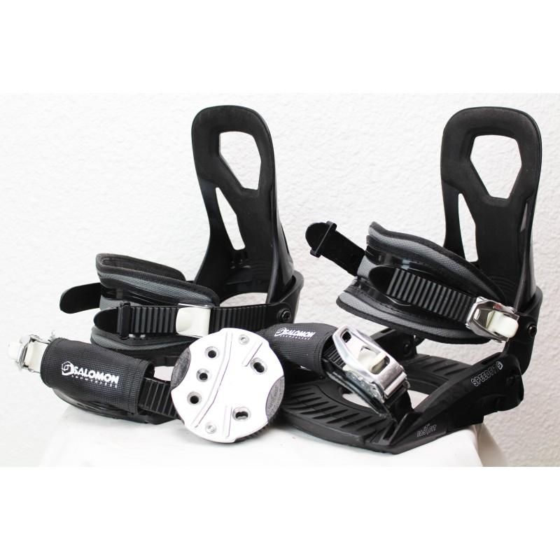 Fixations de Snowboard Salomon Speed Fit Noir