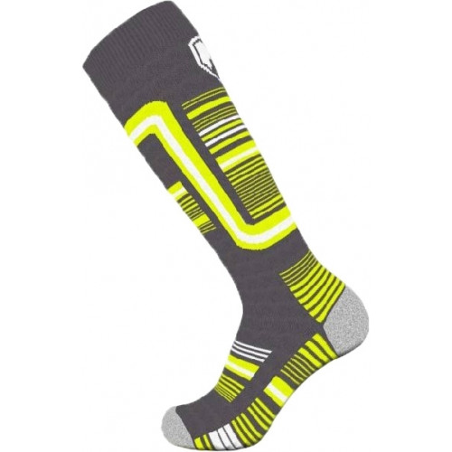 Chaussettes de Ski Torrent Kids Alpine Socks Grey / Yellow