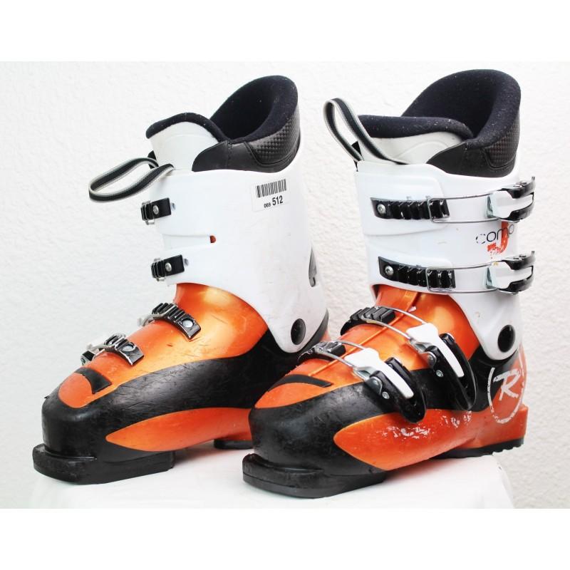 Chaussures de Ski Rossignol Comp J4 Orange / Blanc