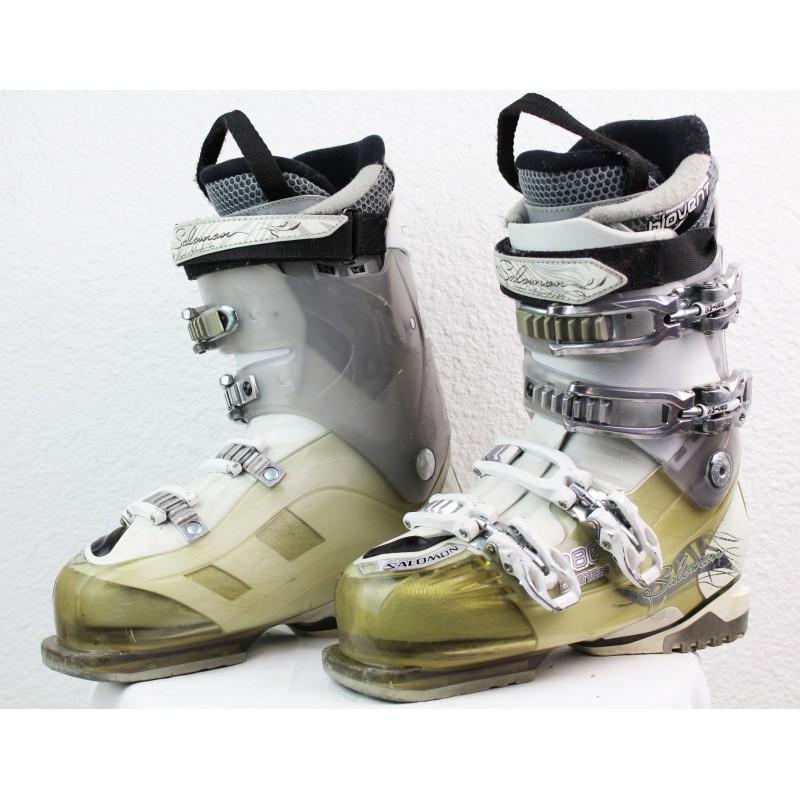 Chaussures de Ski Salomon Divine RS 880 Blanc
