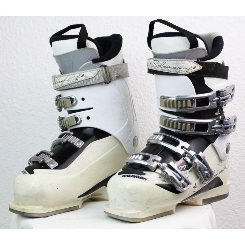 Ski boots Salomon Divine 770 White / Black