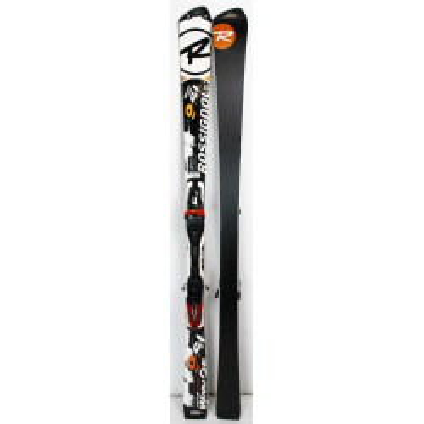 Pack Ski Rossignol Radical WorldCup 9 SL TI + Bindungen Rossignol 120 Weiß
