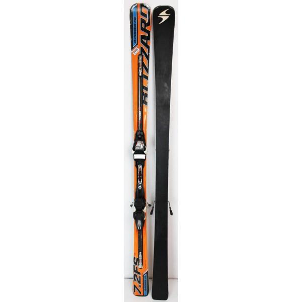 Pack Ski Blizzard R-Power 7.2 FS + Bindings Marker Power 12.0 Orange