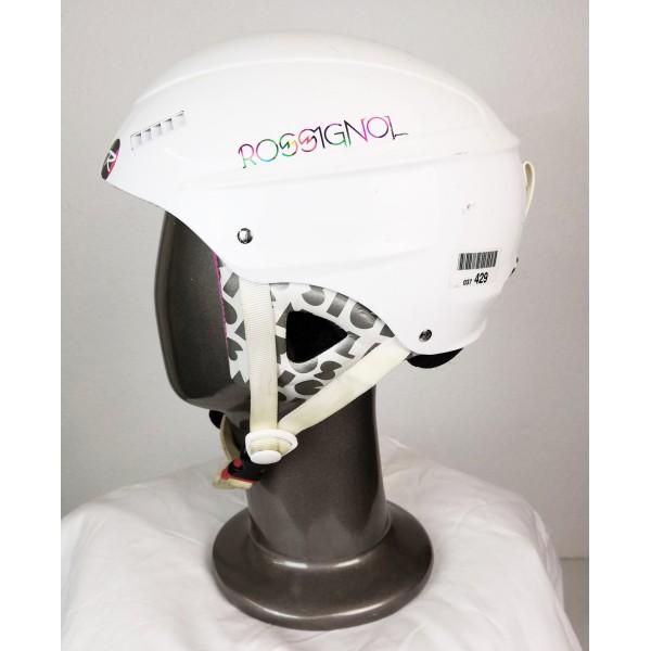 Helmet Ski Occasion Rossignol Toxic Tesla White