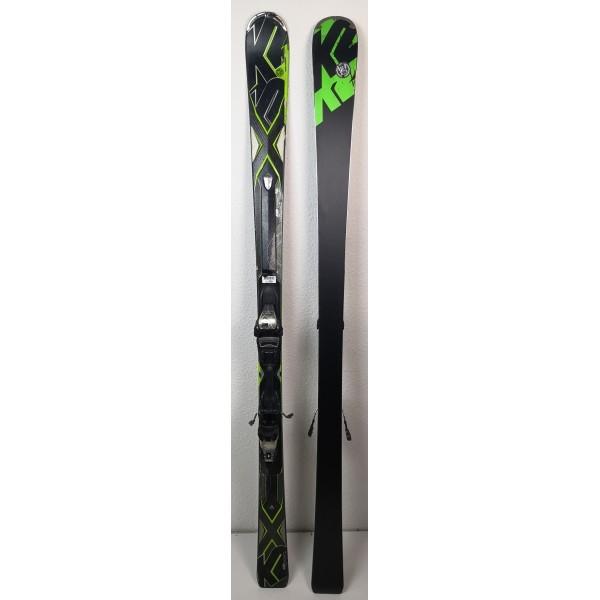 Pack Ski K2 AMP Stryker Noir + Fixations Marker
