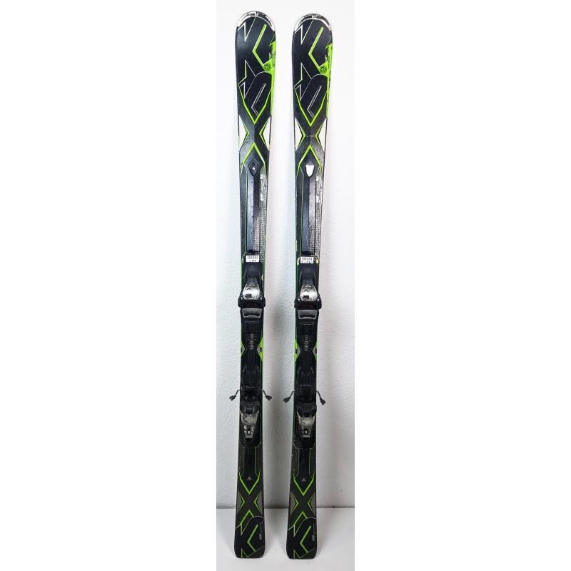 Pack Ski K2 AMP Stryker Noir + Fixations Marker-etat-3