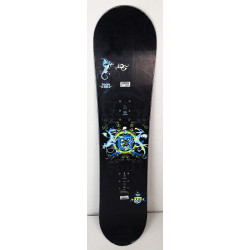 Snowboard Jr Salomon Team Dragons Black